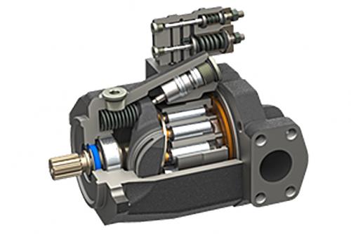 a - pump cutaway